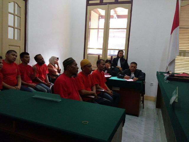 Bawa 1 Kg Sabu dan 21 Ribu butir Ekstasi dari Malaysia ke Tanjung Balai, Tiga Pelaku Dituntut Seumur Hidup
