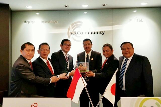 Pemprovsu Inginkan Kerjasama Mitigasi Berbasis IT dengan Jepang