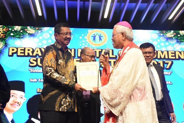 437 Gereja di Sumut Terima Bantuan dari Pemprov Sumut