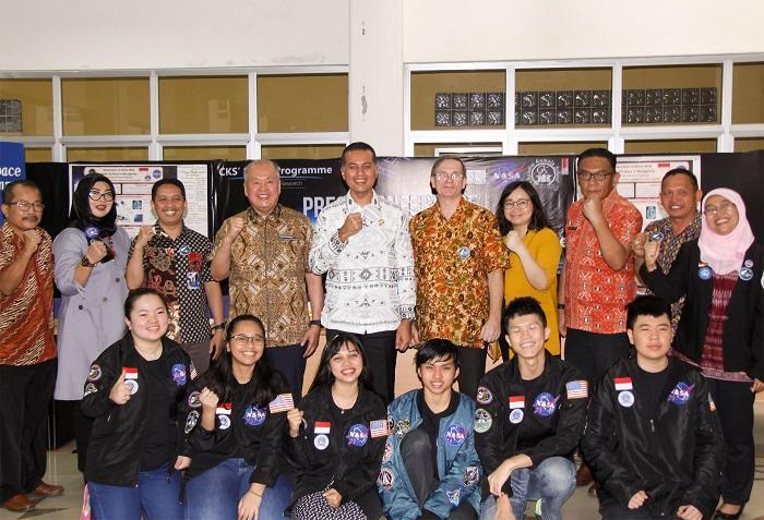 SMU Chandra Kumala Raih Lima Besar Penelitian di NASA, Wagubsu: Kami Bangga dengan Prestasi Pelajar Sumut