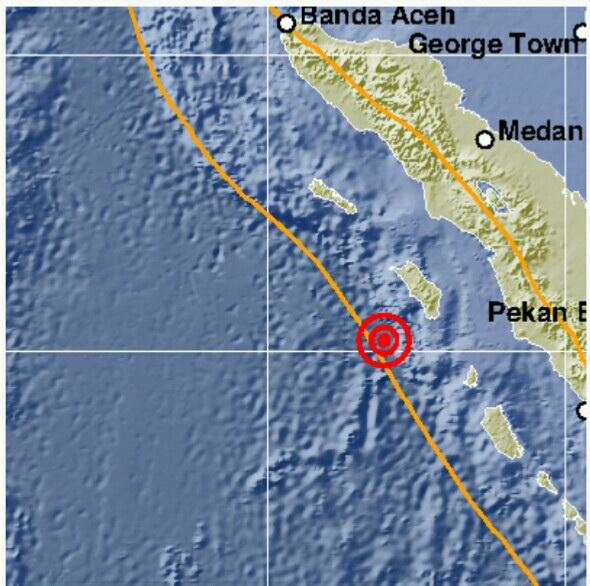 Nias Barat Diguncang Gempa 5 SR