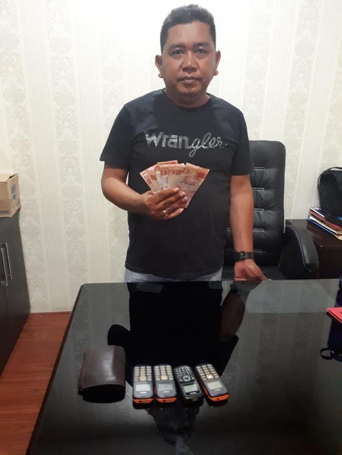 Poldasu Berhasil Bekuk Bandar Togel Omzet Rp 10 Juta Perhari di Bangun Purba