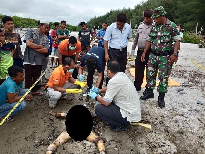 Mayat Bocah Terdampar di Pantai Muara Pantai Labu, Diduga Hanyut dari Sungai Denai