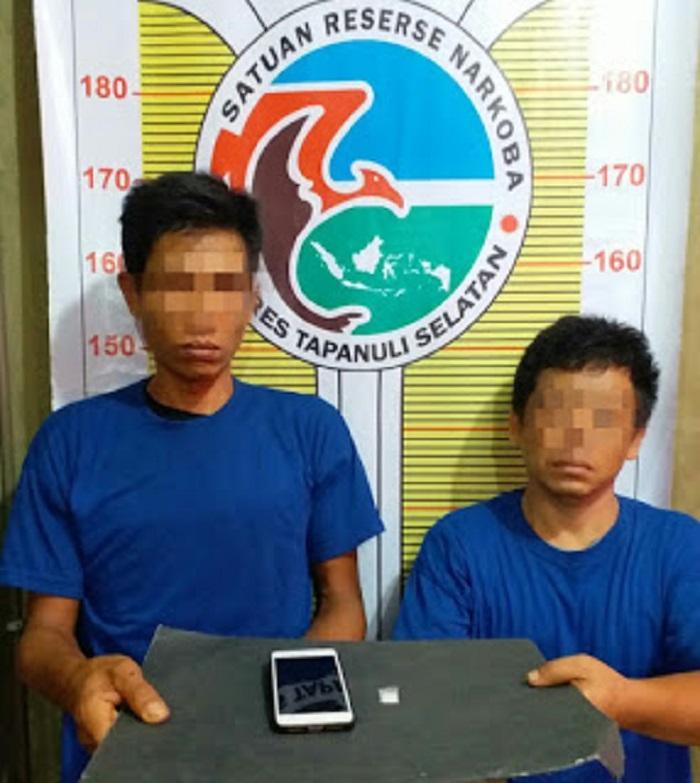 Dua Pria Pemilik Sabu Diamankan Polres Tapsel