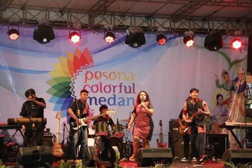 Pesona Colorful Medan Jadi Wadah Kreasi Kaum Muda Kota Medan