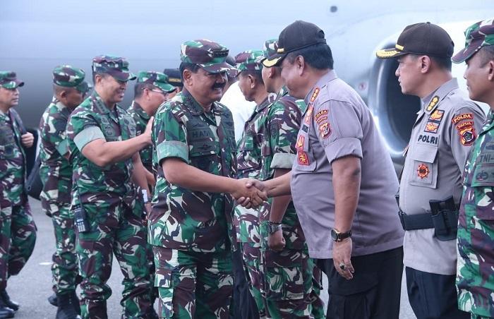 Panglima TNI Kunjungan Kerja ke Timika Papua