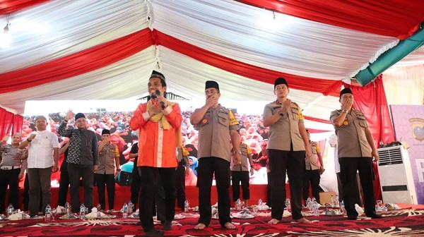 Tablig Akbar Bersama Polda Sumut, Ustadz Maulana: Fitnah atau Informasi Tak Benar Hukumnya Dosa