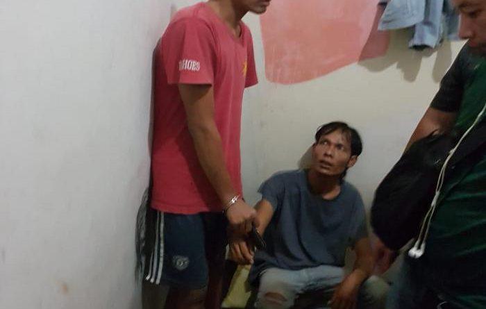 Tim Pegasus Polsek Medan Kota Grebek Kampung Narkoba di Kampung Baru