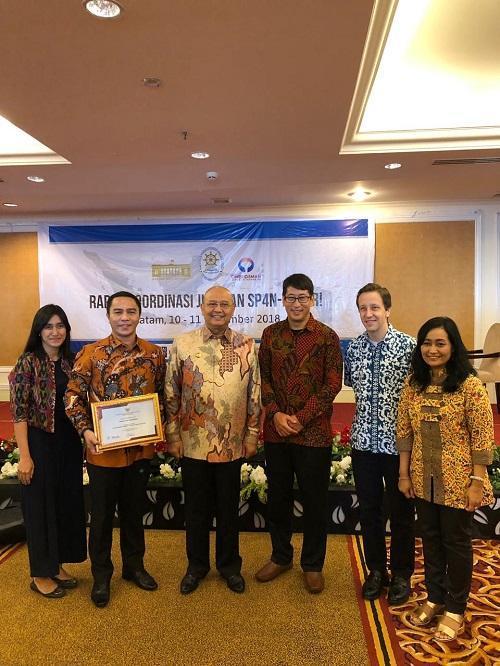 Walikota Medan Terima Penghargaan TOP 25 Pengelolaan Pengaduan Pelayanan Publik