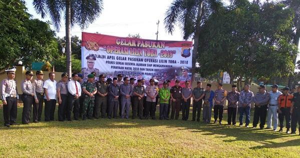 Dandim 0204/DS Siap Bantu Ops Lilin Toba 2018 yang Digelar Polres Sergai