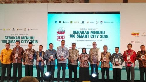 Dapat Penghargaan Smart City Awarding 2018, Wali Kota Medan Minta semua OPD Termotivasi dan Berinovasi