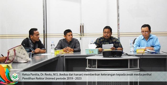 Universitas Negeri Medan Buka Seleksi Calon Rektor Periode 2019-2023