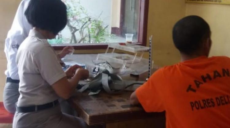 Cek Kesehatan di Rutan Polres Deli Serdang, Tahanan Minta Tambah Vitamin