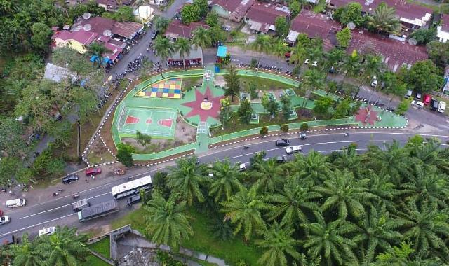 Wali Kota Pematangsiantar Resmikan Taman Beo di Segitiga Rindam