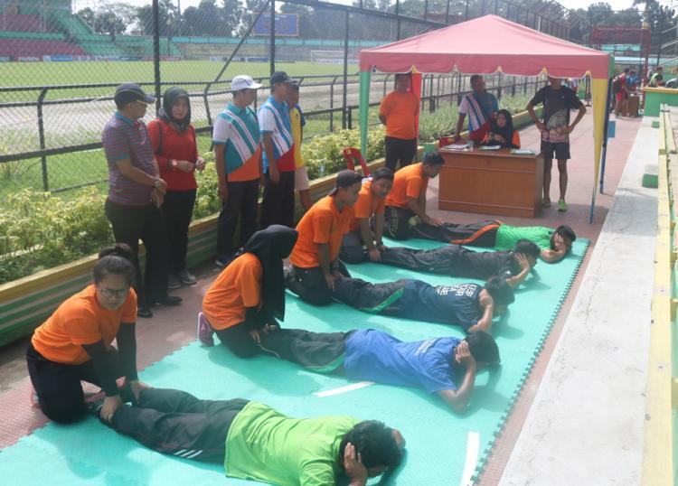 KONI Medan Gelar Tes Kesehatan Atlet Binaan