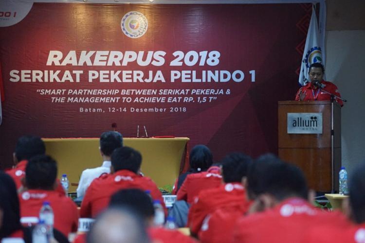 SP Pelindo 1 Gelar Rakerpus 2018