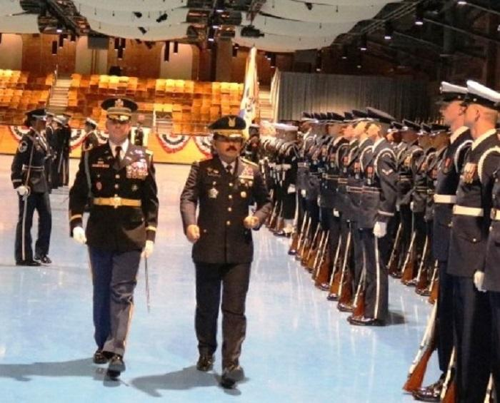 Kunjungi Joint Base Myer Henderson Hall, Panglima TNI Temui Joseph F Dunford Jr di Amerika Serikat