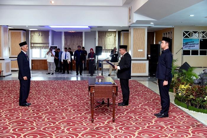 Gubsu Kukuhkan Kepala Perwakilan BPKP Provsu, Kerjasama dengan Pemprovsu Diharapkan Meningkat