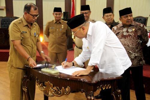 Pemko Medan dan DPRD Kota Medan Setujui Perubahan RPJMD 2016-2021