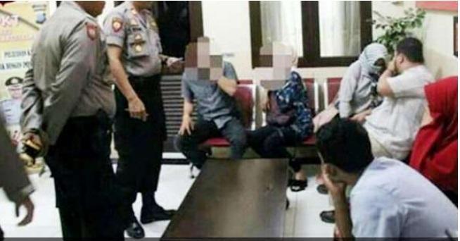 Sedang Asyik di Kamar Hotel, 14 Pasangan Digrebek Polres Padangsidimpuan
