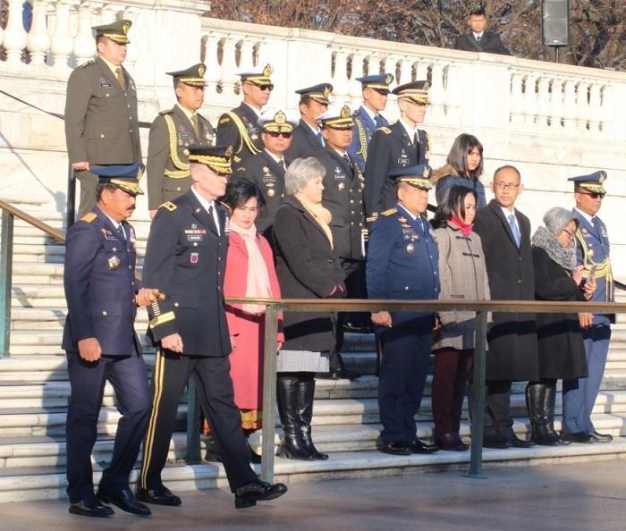 Panglima TNI Ziarah ke Arlington National Cemetery Amerika Serikat