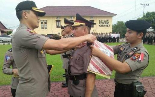 Jelang Pemilu, Kabag Ops dan Kapolsekta Kota Pinang Labuhanbatu Diganti