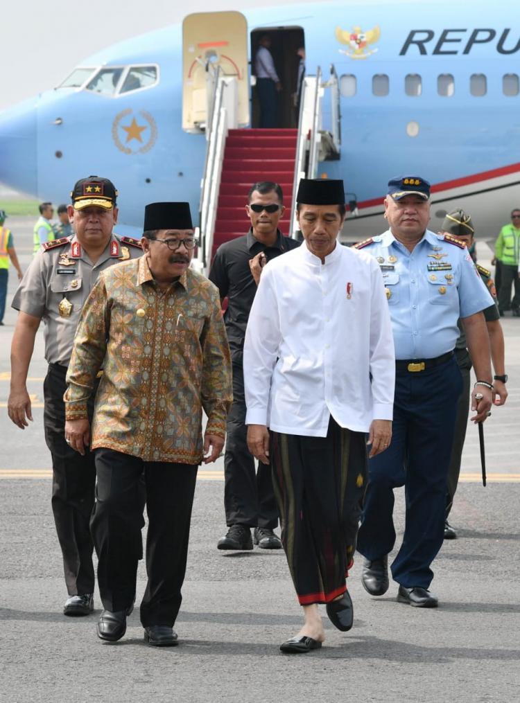 Presiden Resmikan Museum Islam Indonesia dan Luncurkan Bank Wakaf Mikro di Jombang