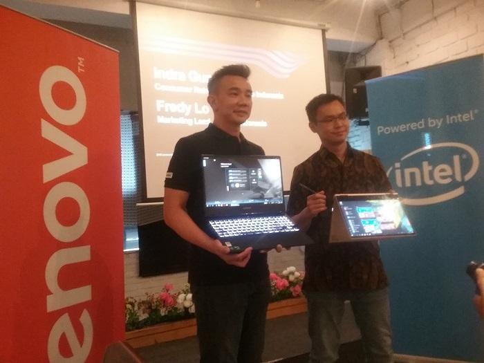 Manjakan Profesional Muda dan Gamer, Lenovo Yoga 730 & Legion Y530 Sapa Warga Medan
