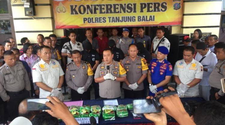 Oknum Ketua Golkar Salah Satu Pelaku Penyelundupan 15 Kilo Sabu di Tanjung Balai