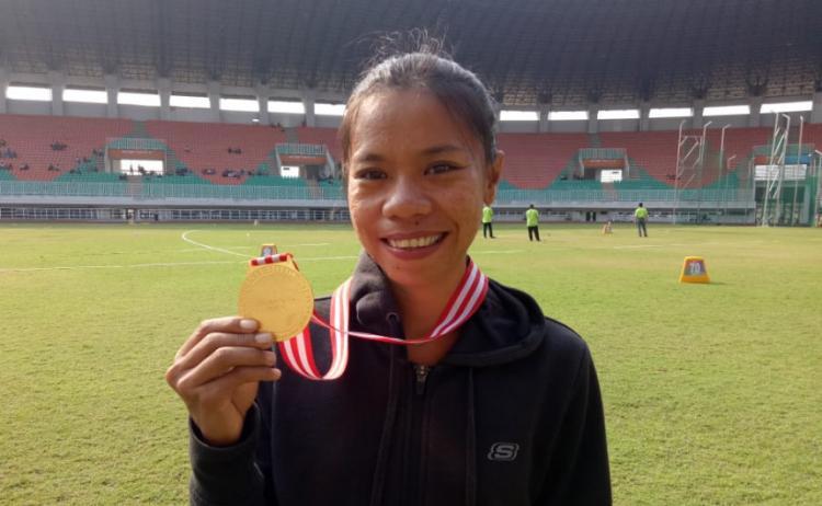 Pretty Sihite, Atlet Asal Sibolga yang Ikut Perkuat Indonesia di Sea Games 2019