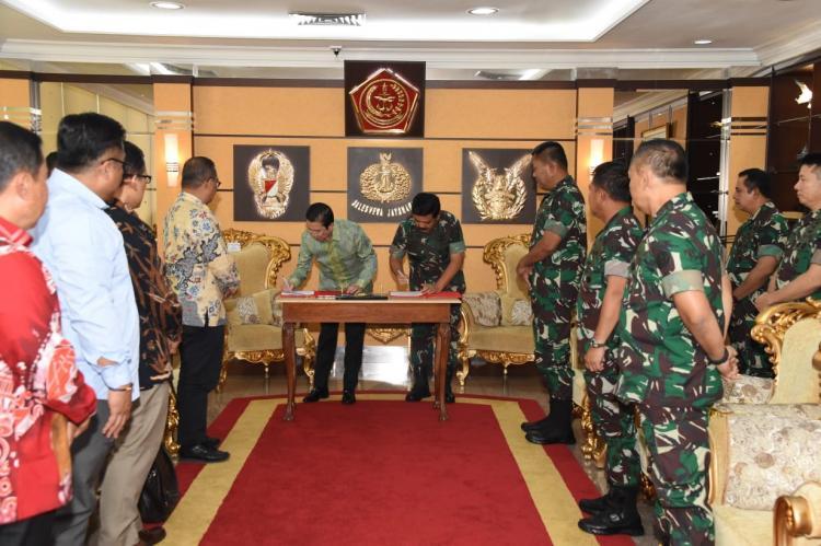TNI dan PT Freeport Indonesia MoU Pengamanan