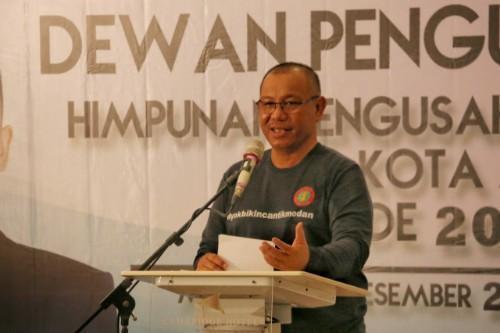 Plt Wali Kota Medan Ajak Pengurus HIPPI Mengambil Peluang Usaha di Kota Medan