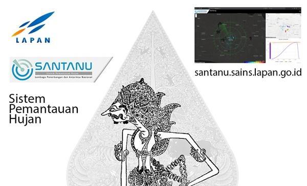 Santanu, Inilah Situs Pemantau Hujan yang Dikenalkan LAPAN