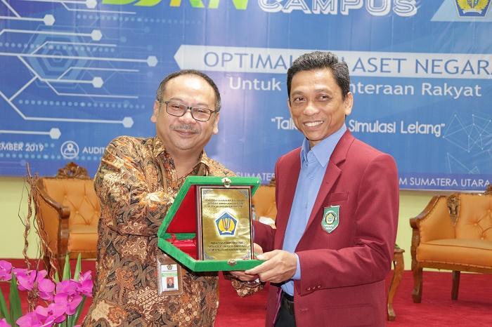 DJKN Sumut Goes to Campus, Rektor: UISU Semakin Dipercaya Masyarakat