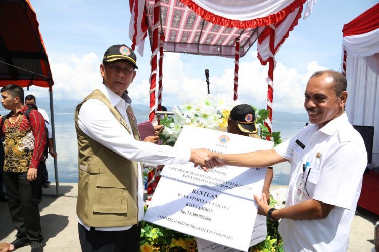 Empat Kementerian/Lembaga Resmikan Sistem Peringatan Dini Tsunami di Pelabuhan Perikanan Eri