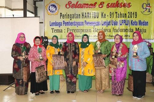 Peringati Hari Ibu, Plt Ketua TP PKK Medan Gandeng Lembaga Pemberdayaan Perempuan Lanjut Usia