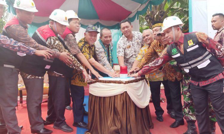 Desa Padang Mahondang Kecamatan Pulau Rakyat Kabupaten Asahan Kini Sudah Dialiri Listrik