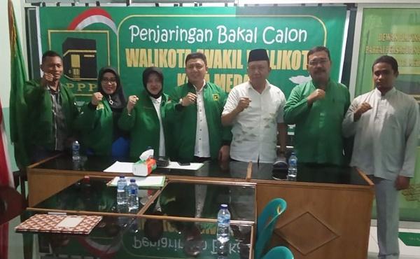 Daftar ke PPP, Mhd Syafii Perkenalkan Program Gebermen untuk Kota Medan