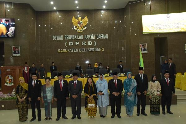 Ketua DPRD Deli Serdang Terpilih: Tegur Kami Jika Kami Melakukan Hal-hal yang Tak Sesuai Ketentuan