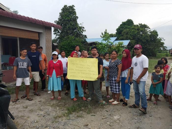 Kades Tumpatan Nibung Didemo Warga Sebab Korek Tanggul Sungai di Batangkuis