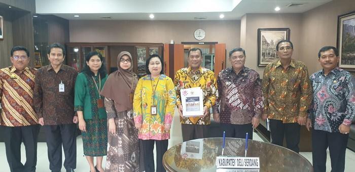 Pemkab Deli Serdang Terima Sejumlah LHP dari BPK RI Perwakilan Sumut
