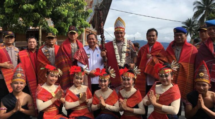 Terbang ke Samosir, Kapolda Sumut Martuani Sormin Cek Pengamanan Natal dan Tahun Baru