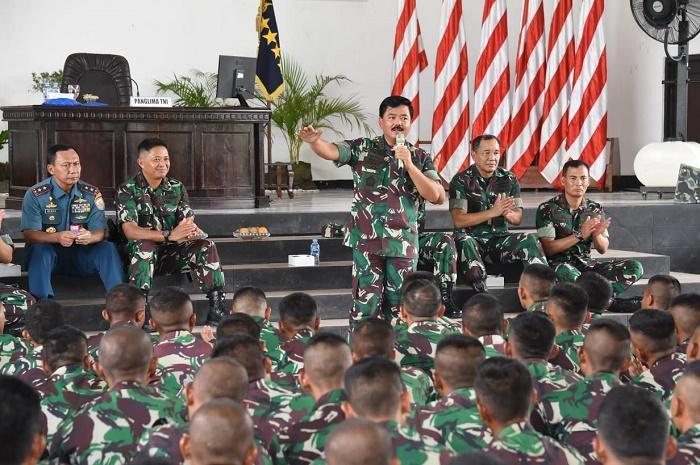 Panglima TNI Minta Kesiapan Marinir Hadapi Tuntutan Zaman