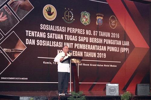 Plt Wali Kota Medan: Satgas Saber Pungli Jangan Berakhir Jadi Pelaku Pungli