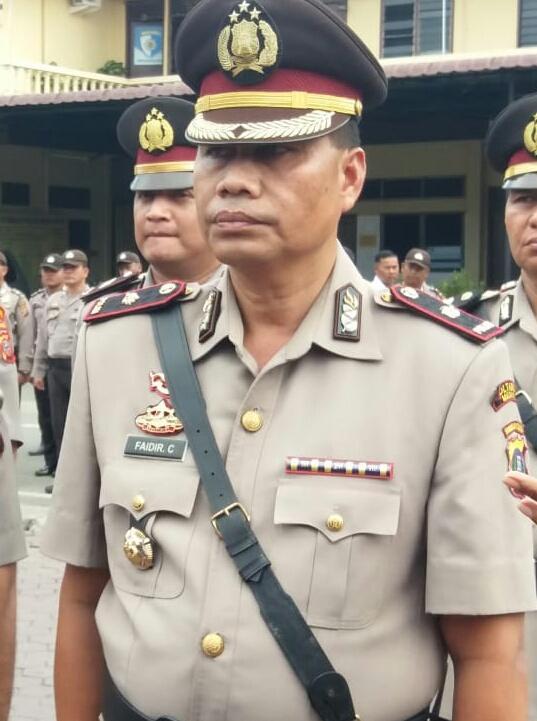 Kapolsek Medan Area Kompol Faidir Chaniago Siap Gempur Peredaran Gelap Narkoba