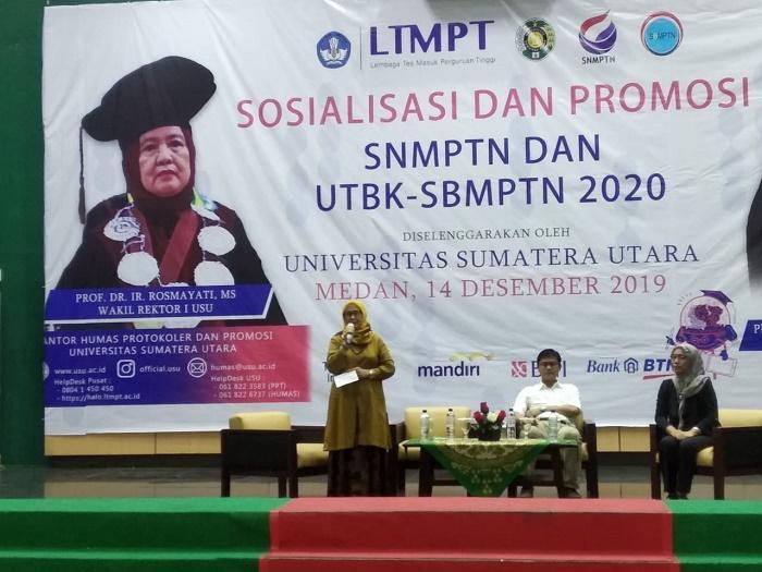USU Buka Jalur Seleksi Masuk SNMPTN dan UTBK - SBMPTN 2020