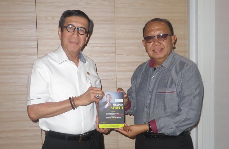 Bedah Biografi Mhd Syafii, Menkumham Yasonna Direncanakan Hadir