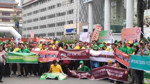 Gubernur Sumut bersama Plt Walikota Medan Deklarasikan Medan Bebas Banjir dan Bebas Sampah 2022