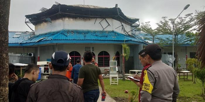 Diduga Kompor Meledak Kena Tabung Gas, Lapas Wanita Tanjung Gusta Terbakar