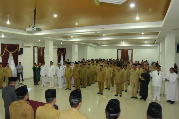 Wakil Bupati Deli Serdang Lantik Pejabat Eselon III dan IV